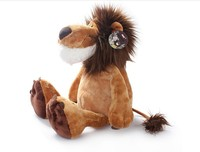 new creative stuffed animal lion toy cute plush toy the jungle lion doll gift about 50cm 0453
