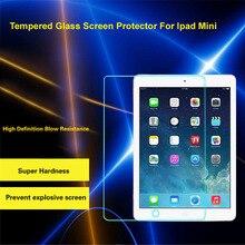 Ollivan Mobile Phone Screen Protector For Ipad Mini 1 2 3 0.33mm 9H 2.5D Arc Edge Hardness Tempered Glass Screen Guard Film