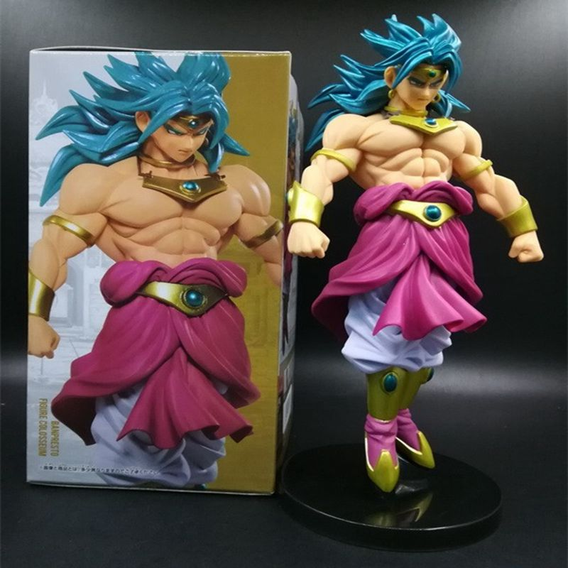 Anime 20CM Dragon Ball Z Super Saiyan Broli Figure Model Doll PVC Action Figures Toy Collectible Model Toy dragon ball z broli 1 8 scale painted figure super saiyan 3 broli doll pvc action figure collectible model toy 17cm kt3195