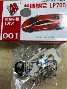Image 5 - C8704 16 ชิ้น 4D รุ่นชุด 1: 87 HO Scale ปริศนารถยนต์รถไฟเค้าโครงใหม่ DIY 16 รูปแบบ