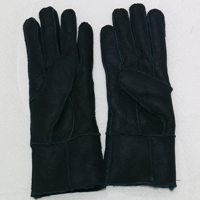 Sheepskin Warm Gloves