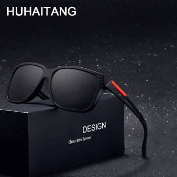 HUHAITANG Luxury Brand Oversized Square Sunglases Men Designer Hollow Sunglasses Women 2019 Outdoor Goggle Sun Glasses For Mens
