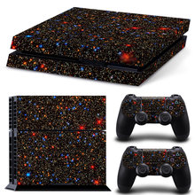 New Version Customized Skin Sticker Decal for Playstation 4 Console + 2 Controllers(China)
