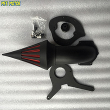 motorcycle parts Spike Air Cleaner Kits filter for Honda Aero 750 VT750 all year 1986-2012 Black