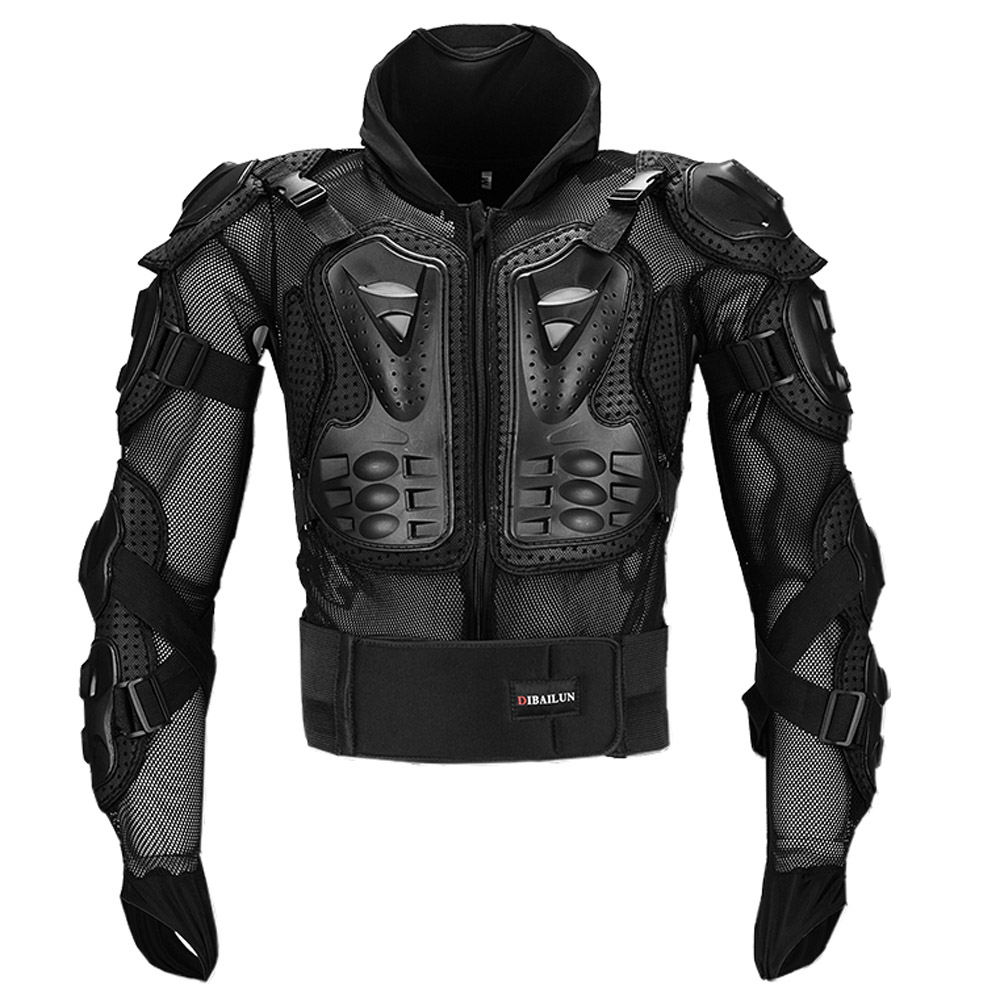 FURY RACE Motocross MX ARMOR Motorcycle Body Jacket Protector Moto Off Road Riding Racing Neck Guard