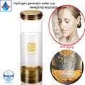 Transmisión inalámbrica pura inteligente de hidrógeno y oxígeno taza de separación quantum rico hidrógeno H2 generador botella taza