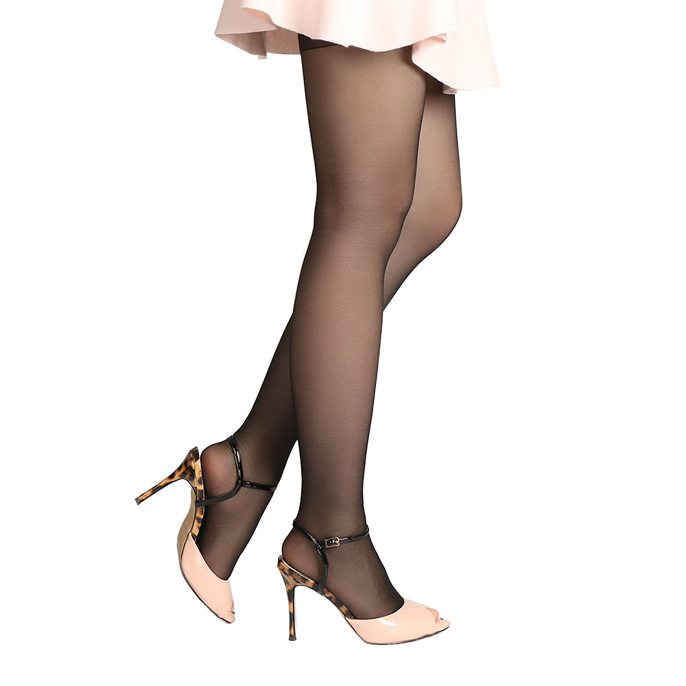 Buy 1 Pair HOT Fashion Sexy Womens Open Toe Sheer Pantyhose Transparent Ultra-Thin Tights Pantyhose Stockings Sheer Stockings