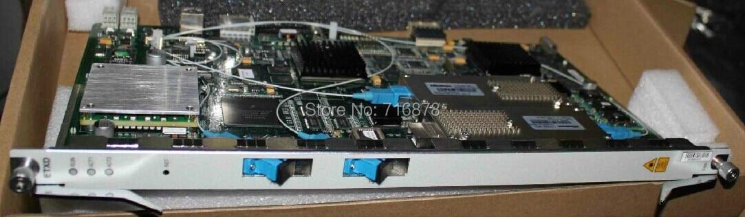 ETXD com 2 portas 10G EPON uso da placa para C300 - Equipamento de comunicação - Foto 1
