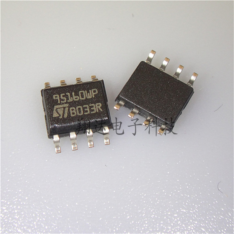 US $5 69 8% OFF|20PCS/LOT M95160 WMN6TP 95160 95160WP 95160WQ SOP8 Serial  EEPROM memory chip For Car Memory Chips-in Mono Amplifiers from Automobiles