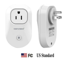 2016 NEW Orvibo UK/EU/US/AU Standard power Socket timer switch Wall Plug Phone wireless control with APP Smart home Automation