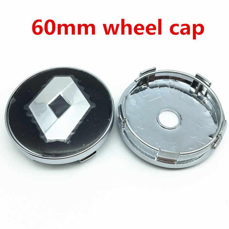 54 мм 56 мм 57 мм 60 мм Центральная втулка колеса автомобиля колпачки 3D логотип наклейка колеса пыленепроницаемый значок для крышки для Clio Megane Лагуна сценический TwinGo