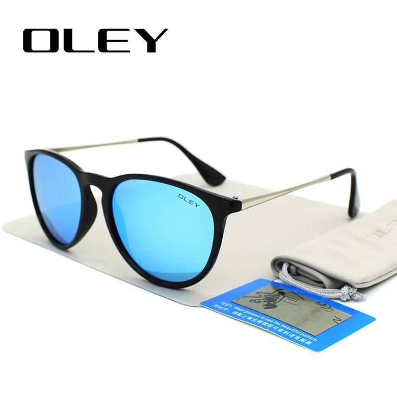 OLEY gafas de sol polarizadas mujeres estilo retro marco de metal - Accesorios para la ropa - foto 3
