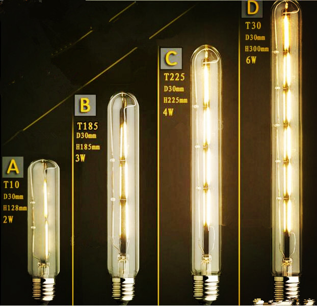Lâmpadas Incandescentes e27 bombilla lâmpada edison vintage Modelo Número : Led Edison