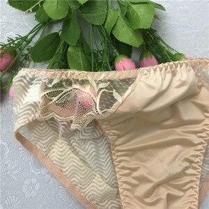 Image 5 - 2018 męskie bielizna majtki męskie prześwitujące majtki koronkowe cockcon slip homme sexy mężczyźni bielizna gejów odzież dla mężczyzn