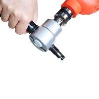 Double Headed Sheet Metal Cutting Nibbler With Wrench Cutting Machine Hand Tool Sets Metal Sheet Cutter