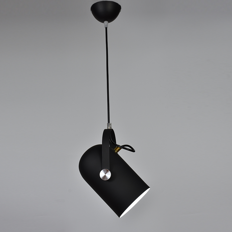 Nordique Minimalisme droplight Angle réglable E27 petit pendentif lumières, décoration d'intérieur lampe d'éclairage et Bar Vitrine spot light - 5