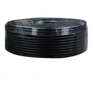 100m roll 2core BLACK PVC covered cable 18AWG