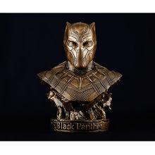 Film Peripherals The Avengers Black Panther SUPER HERO Universe GK Bust Creativity Action Figure Collection Model Toy M01(China)