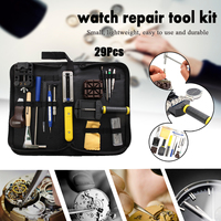 Cymii 29pcs Watch Case Opener Tool Set Watches Repair Tools Kit Watch Tools Watchmakers Set Spring Bar Remover Screwdriver Pin