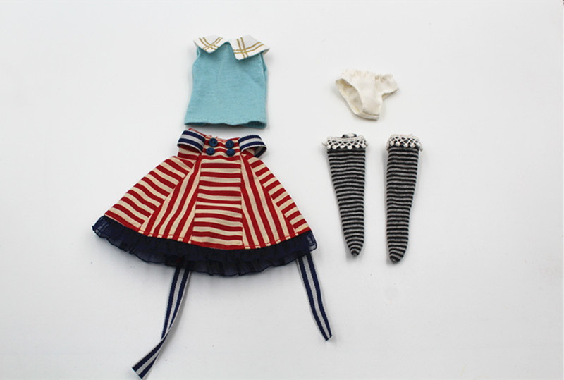 Blygirl Blyth doll Courtesy suits fit for 1/6 dolls Blythe doll