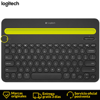 Logitech K480 mini spanish keyboard wireless gaming keyboard 2.4Ghz gamer bluetooth keyboard For tablet TV Box Android Notebook