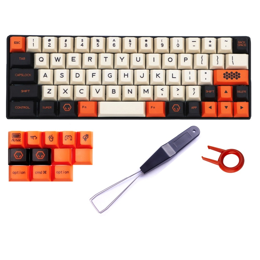 PBT Keycaps Carbon 78 Keyset for 67 Keys Filco Minila Air Mechanical Keyboard Dye-Sublimated Cherry Profile With Keycap Puller коврик для мышки printio коврик для мышки wot worldoftanks by pj