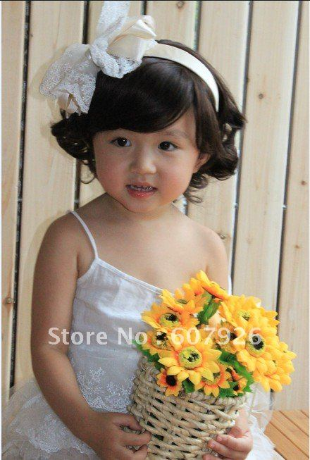 Latest Hot Baby S Short Hair Wig Adjule Korean Style 2 12years Free Shipping On Aliexpress Alibaba Group