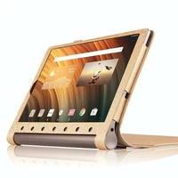 Ultra Slim Luxury Silk Stand Folio Flip PU Leather Cover Magnetic Case For Lenovo Yoga Tab3