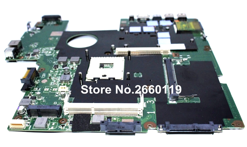 ФОТО 100% Working Laptop Motherboard For Asus G60JX Main Board Fully Tested and Cheap Shipping