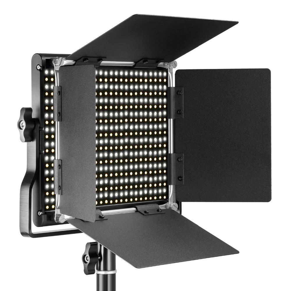 Neewer 3200-5600 K Би-цвет затемнения CRI 95 660 светодио дный свет + U кронштейн Шторки для студии/YouTube/фото/видео ЕС/АС Plug