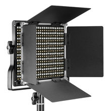 Neewer 3200-5600k bi-color regulável cri 95 660 led luz + u suporte barndoor para estúdio/youtube/fotografia/vídeo ue/au plug