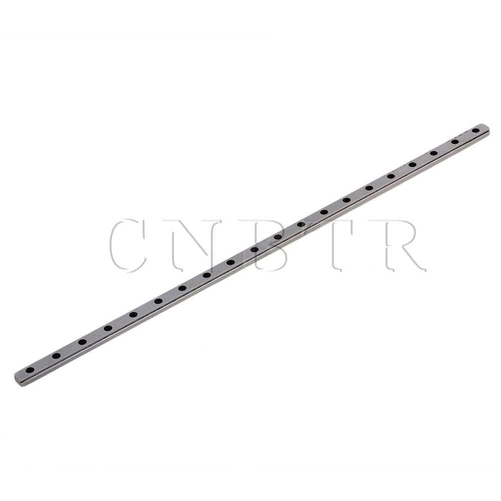 CNBTR 30cm Length MGN7 Bearing Steel Linear Sliding Guide Slide Rails Silver cnbtr 30cm length mgn7 bearing steel linear sliding guide slide rails silver