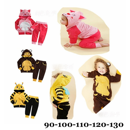Cute Bunny Long Sleeve Girls Clothing Sets Animal Ears Children Hoodies + Pants Conjunto Menina Baby Girl Clothing Kids Clothes стол обеденный раскладной iren венге