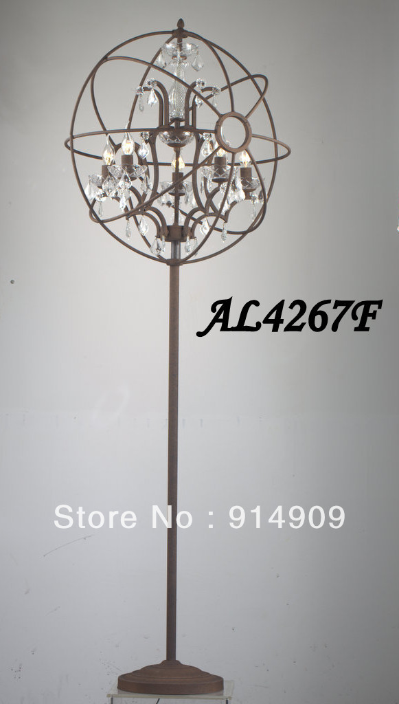online shop orb crystal floor lamp aliexpress mobile