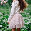 Christmas girls tutu skirts 2016 summer Pettiskirt Fluffy Lace ball gown princess skirt baby to Big girls Children CLothing