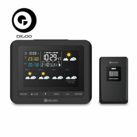 Digoo DG-TH8805 Sans Fil Forcast Station Météo Écran Numérique USB Hygromètre Humidité Thermomètre Température Capteur Horloge