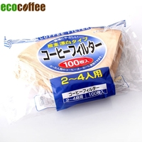 Free Shipping 103 V60 Coffee Drip Paper Filters 100pcs Per Bag