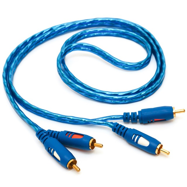 2RCA Audio Cable 1.5/3/5M Oxidation Resistant Design 2RCA Male To ...