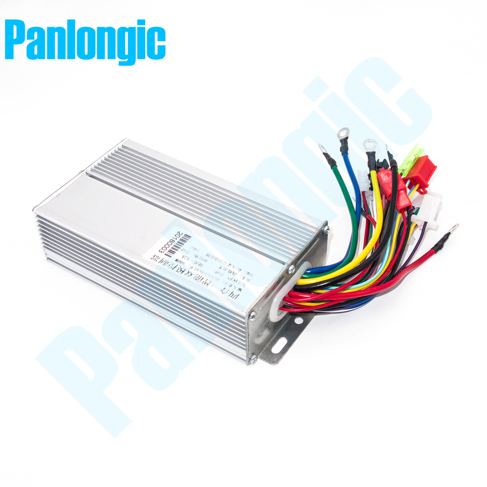 48V/60V 500W BLDC Electric Bicycle E-bike Scooter Hub Motor Brushless DC Motor Controller 12 MOFSET