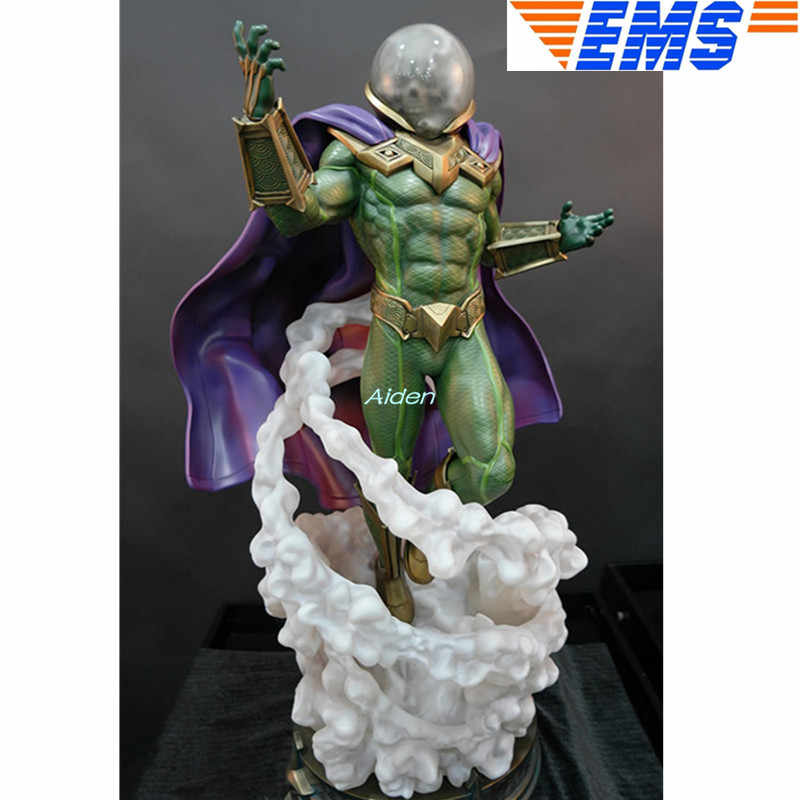 "26 ""Mysterio Estátua Busto Simulação Criativo Art Craft Full-Length Retrato 1:4 Escala GK Action Figure Toy BOX 65 CM B1599"