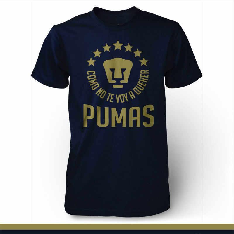 dc02e042a06 Pumas Unam Mexico Camiseta T Shirt Jersey Futbol Soccer Universidad Liga Mx  Short Sleeve Fashion Summer