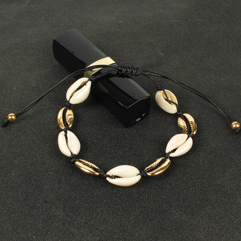 Купить браслеты анклеты женские с ракушками модные летние пляжные ювелирные