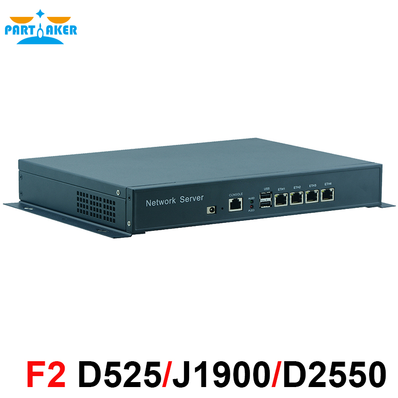 Desktop J1900 4 82574L Lan Fanless Mini PC Firewall Appliance font b Network b font Security