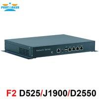 Desktop J1900 4*82574L Lan Fanless Mini PC Firewall Appliance Network Security Computer Firewall hardware