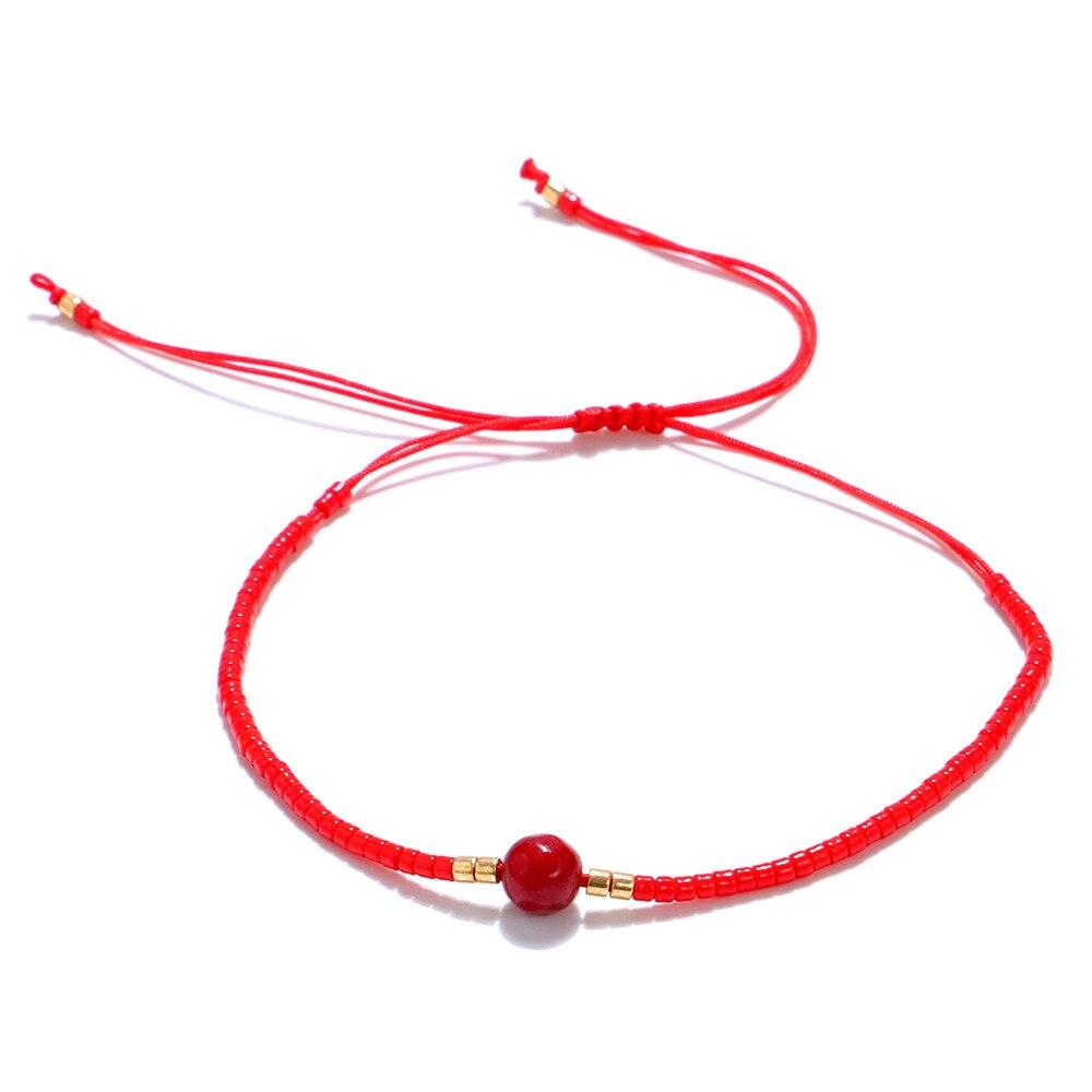 Classic Simple MIYUKI Bead Bracelet Bangle For Women Adjustable Charm Ethnic Bohemia Jewelry Drop Shipping