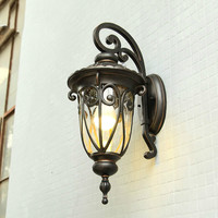Ретро открытый настенный светильник настенный Наружное освещение водостойкий балкон коридор проход Свет ворота садовые огни wx12031159