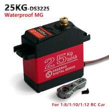 1X DS3225更新サーボ25キロフルメタルギアデジタルサーボバハサーボ防水サーボバハ用車 + 送料無料