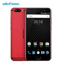 Ulefone T1 4 г LTE смартфон 5.5 дюймов Android 7.0 nougat helio P25 Восьмиядерный 6 + 64 отпечатков пальцев двойной sim мобильный телефон большой Батарея
