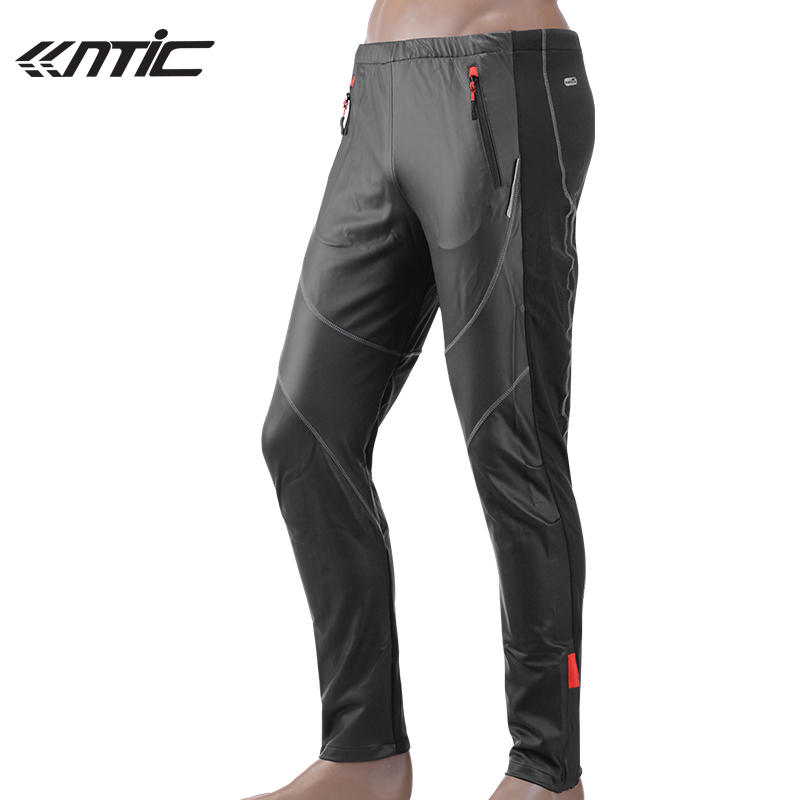 SANTIC Mens Winter Bicycle Bike Long Pants Windproof Fleece Thermal Tights-James Outdoor Sports Pants Cycling Clothing C04007 nuckily men s winter bicycle pants waterproof and windproof outdoor breathable polyester durable fabric cycling sports tights