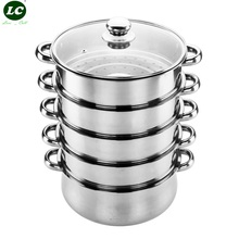 Cookware Steamer Cooking Steamers Utensil Cooking Tools stainless steel Kitchenware Set Kitchen supplies Steaming Pot